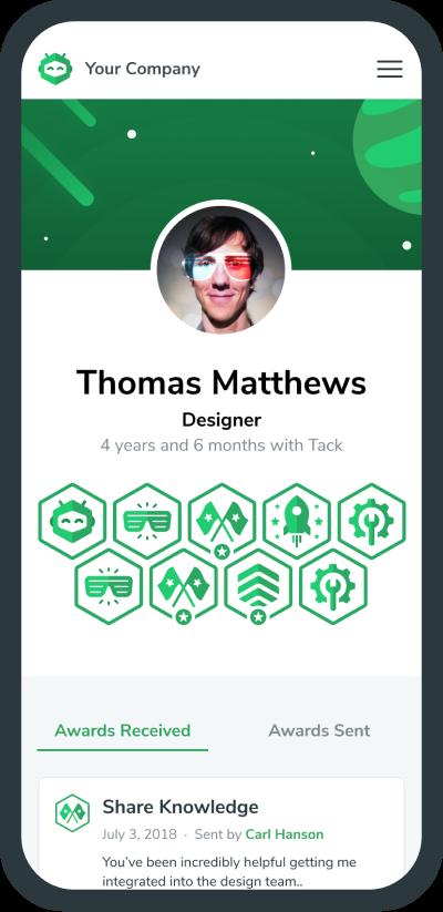 My Profile Page Screenshot